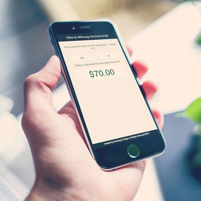 Tithe & Offering web app